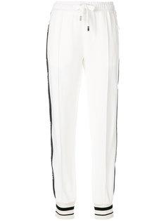 спортивные брюки с контрастными панелями Dolce & Gabbana