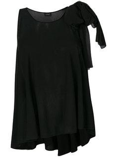 блузка с завязкой на плече  Giambattista Valli
