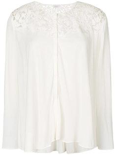 блузка с кружевными вставками Giambattista Valli