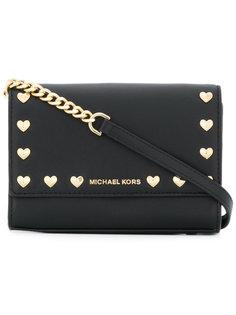 сумка через плечо с заклепками Michael Michael Kors