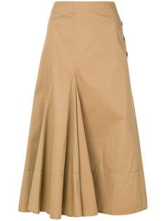плиссированная юбка Joseph
