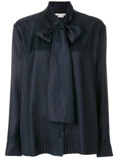 блузка в полоску с бантом  Stella McCartney