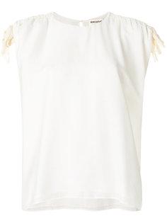 блузка с завязкой на плече  Semicouture
