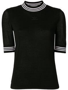 футболка с контрастной окантовкой Adidas