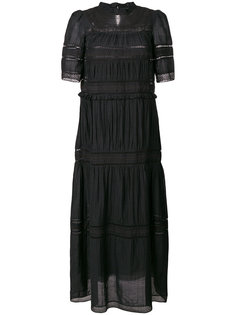 длинное платье с вышивкой Isabel Marant Étoile