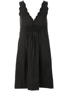 платье с вышивкой Isabel Marant