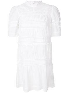 перфорированное платье с вышивкой Isabel Marant Étoile