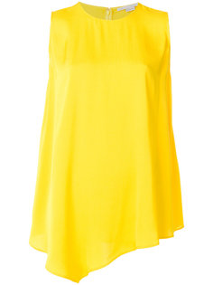 асимметричная блузка без рукавов Stella McCartney