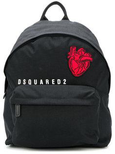 рюкзак с заплаткой в виде сердца Dsquared2