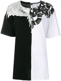 футболка с комбинированным принтом Marcelo Burlon County Of Milan