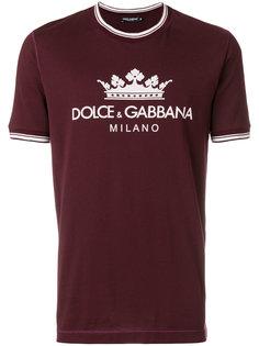 logo print T-shirt Dolce & Gabbana