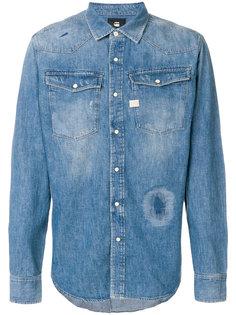 джинсовая рубашка в ковбойском стиле G-Star
