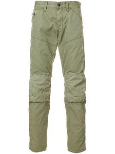 байкерские брюки-чинос  G-Star
