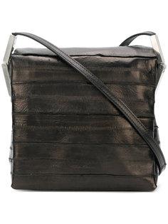 фактурная сумка на плечо Rick Owens
