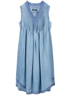 джинсовое платье шифт  Steffen Schraut