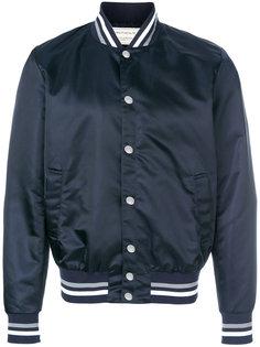 классическая куртка-бомбер Maison Kitsuné