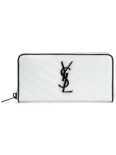 кошелек Monogram на молнии Saint Laurent