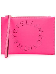 клатч с логотипом  Stella McCartney