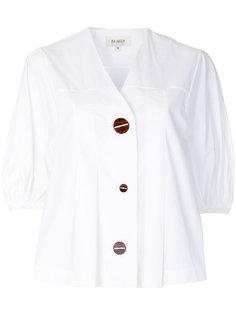 рубашка с V-образным вырезом и короткими рукавами Isa Arfen