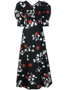 платье с цветочным принтом Isa Arfen