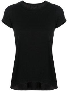 футболка с закругленным краем  Sacai