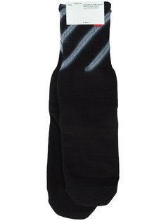 носки с принтом Diagonal Off-White
