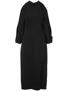 платье с разрезами на рукавах Cushnie Et Ochs