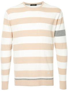 свитер в полоску дизайна колор-блок Loveless