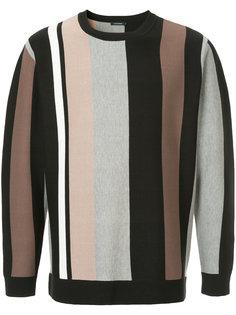 свитер в полоску дизайна колор-блок Guild Prime