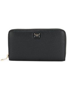 континентальный кошелек с круговой застежкой-молнией  Dolce & Gabbana