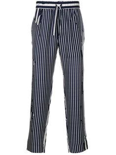брюки Brucite с полосатым узором Haider Ackermann