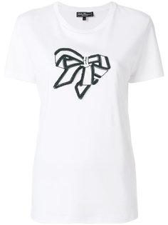 футболка с вышивкой Vara Salvatore Ferragamo