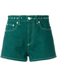 джинсовые шорты с завышенной талией Tommy Hilfiger