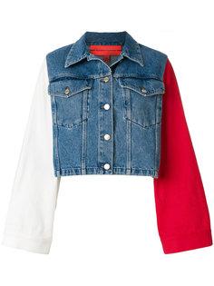 джинсовая куртка дизайна колор-блок Tommy Hilfiger