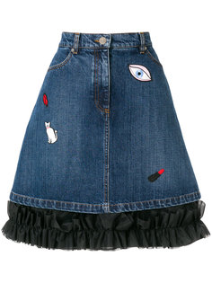 джинсовая юбка Gomeisa Vivetta