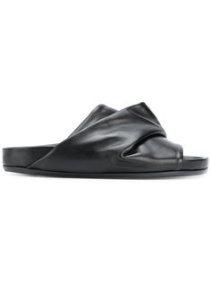 сандалии с драпированным дизайном Rick Owens
