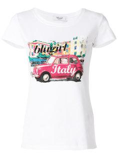 футболка с принтом  Blugirl