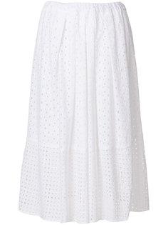 пышная юбка с вышивкой  Blugirl
