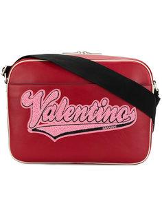 сумка на плечо с логотипом Valentino