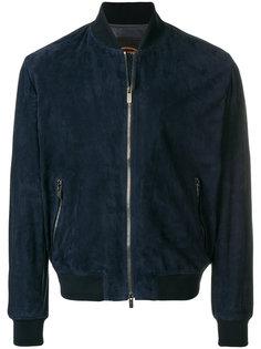 замшевая куртка-бомбер Tods Tod`S