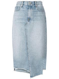 джинсовая юбка-миди Rag & Bone /Jean