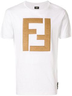 футболка с логотипом FF Fendi