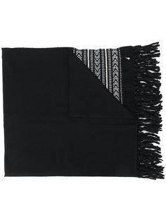 трикотажный шарф Ikat Saint Laurent
