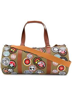 дорожная сумка с нашивками Saint Laurent