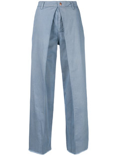 джинсы со складками Aalto