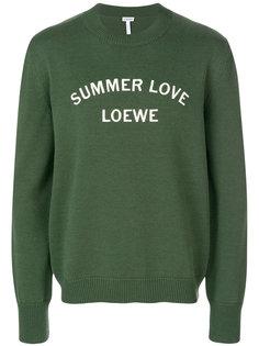 свитер Summer Love Loewe
