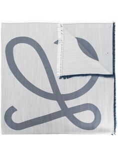 шарф с необработанными краями Loewe