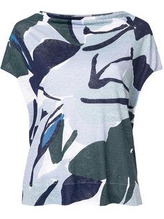 приталенная футболка с абстрактным принтом Le Tricot Perugia