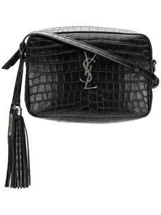 сумка через плечо с эффектом крокодиловой кожи Saint Laurent