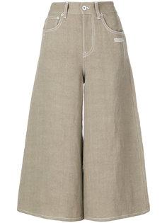 укороченные широкие джинсы  Off-White